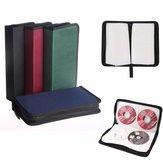 80 CD VCD DVD Storage Bag Classeur Rangement Pochette Etui Range Sac Sacoche Nylon