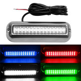 27LED / 42LED Underwater Pontoon Marine Boat Lampu Transom Tahan Air 316 Stainless Steel
