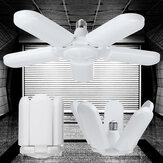 1/3 / 5pcs 75W E27 luz LED Accesorio de techo deformable para garaje Lámpara Accesorio para taller Hogar AC85-265V AC165-265V