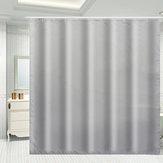 防水グレーシャワーウィンドウカーテンバスルームドレープホテルホームインテリアファッション