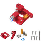 Original Red  Aluminum Btech Double Gear Pulley Drive Extruder Kit  Kit for CR-10S PRO Ender-3 3D Printer