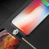 Bakeey Cavo dati magnetico micro USB intrecciato Type C rotante a 180 gradi per iPhone 11 Pro XS Huawei P30 Pro Mate 30 Mi9 9Pro S10 + Note10