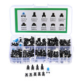 180Pcs 10 Values Tactile Push Button Switch Mini Momentary Tact Assortment Kit DIY