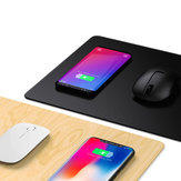 JAKCOM MC2 2in1 10W Dual Coils Qi Quick Charge Waterproof Anti-Slip Smart 15 inch Wireless Charger Mouse Pad for iPhone 11 Pro Max for Samsung S10+ HUAWEI