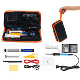 110V/220V 60W Electric Solder Iron Adjustable Temperature Welding Soldering Iron Tool Kit