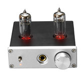 Stereo Audio Amplifier Buffer DC 12V 6K4 Vacuum Tube Headphone Earphone Amp