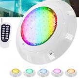45W RGB LED natação Piscina luz 450LED IP68 à prova d'água AC / DC12V lâmpada subaquática para exterior