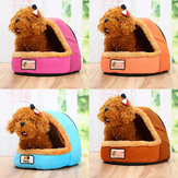 Pet Bed Puppy Cushion House Soft Pad Warm Nest Kennel Dog Mat Blanket