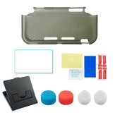 TPU Protective Case Bracket Tempered Film Rocker Cap Kit for Nintendo Switch Lite Game Console
