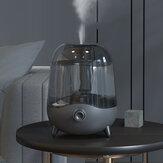Deerma DEM-F323 5L Büyük Kapasiteli Kristal Dilsiz Mini Hava Nemlendirici Yatak Odası Oturma Odası Çift Kullanımlı