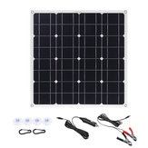 150W 18V Mono Solar Panel USB 12V/5V DC Monocrystalline Flexible Solar Charger For Car RV Boat Battery Charger Waterproof