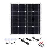 150W 18V Mono Solarpanel USB 12V / 5V DC Monokristallines flexibles Solarladegerät für Auto RV Boot Batterie Ladegerät wasserdicht