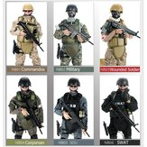 12inch 300mm 1/6 Uniform Military Army Soldier Set Model SWAT SDU Combat Game Action Figure Toys Gift