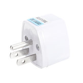Universal to US American Portable Power Adapter Plug Converter Socket Mini For Phone / Computer / Camera