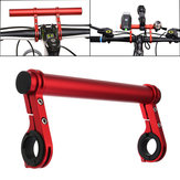 Bike Flashlight Holder Handle Bar Extender Mount Bracket Bicycle Accessories