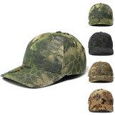 男性調整可能な迷彩帽子狩猟釣りハイキング軍事野球帽