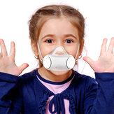 PM2.5 الغبار قناع للأطفال مكافحة التلوث تنفس ذكي مروحة كهربائية قناع الهواء العرض قناع الوجه في الدراجات التخييم المشي