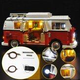 تم تحديث LED ضوء ضوءing Kit لـ LEGO 10220 T1 Campingbus VW CAMPER VAN Bricks