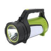 300 W 3000LM USB Şarj Edilebilir Güçlü LED El Feneri Süper Parlak İş Işık Spot Acil Torch Lamba