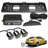 Sauvegarde de la caméra de stationnement vidéo de plaque arrière de plaque d'immatriculation de voiture