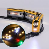 DIY LED ضوء Kit Only for LEGO 60197 Passenger Train Building Block Brick ضوءing