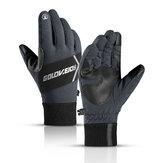 Zimowe ciepłe rękawiczki termiczne z ekranem dotykowym Narty Snowboard Jazda na rowerze Wodoodporny ekran dotykowy