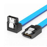 SAMZHE 3UX-05B 6 Гбит / с SATA3.0 Между мужчинами Прямой изогнутый / прямой кабель для передачи данных SATA