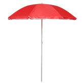 1.8m 8 Ribs Outdoor Beach Umbrella Adjustable Steel Poles Garden Patio Sunshade Parasol