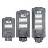 Énergie solaire 117/234/351 LED Wall Street Light PIR Lampe de mouvement Garden Road
