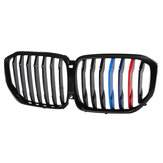 Paint M-Color Shiny Black Front Grille Grill SUV Performance For BMW X5 G05 2019-2020