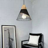 E26 / E27 Moderne Nordic LED-kroonluchter Plafondlamp Metalen hanglamp Cafe Bar