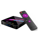 X88 PRO X3 Amlogic S905X3 4 Go de RAM 64 Go de ROM 5G WIFI Bluetooth 4.1 8K Android 9.0 TV Box