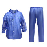 Waterproof Rain Suit Trousers Windproof Raincoat Jacket Working Pant Outdoor Fishing Motorcycle Bike Riding