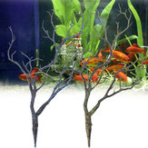Aquarium Kunstmatige Plant Boom Ornament Aquarium Onderwater Tafel Vaas Decoraties