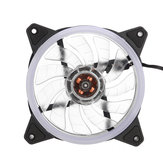 120mm PC Case Fan Computer Ultra Silent LED Lights Cooler Cooling Heatsink