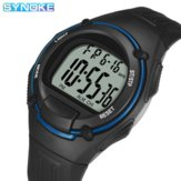 SYNOKE 9031 Fashion Men Watch Luminous Week Display 12/24 hour Chronograph Waterproof Digital Watch