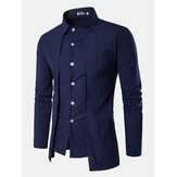 Herre-mode To stykker Double Plackets Shirts