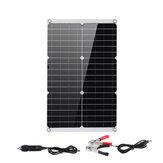 Ładowarka Mono Solar Panel Podwójny monokrystaliczny elastyczny kontroler solarny USB Power Bank Outdoor Camping Piesze wycieczki Ładowarka