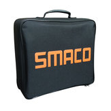 SMACOS400/S400Zíperquadradopretoem PVC 900D Bolsa Equipamento de mergulho Bolsa Equipamento de mergulho ao ar livre Bolsa
