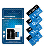 Scheda di memoria MORIC 32GB 64GB 128GB TF Card Smart Card U3 U1 CLASS10 TF Flash Card per Smart Phone Scheda di memoria digitale sicura