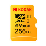 Kodak U3 V30 Class10 Micro SD-kort SDXC SDHC SD-kortminne TF Flash-kort 512 GB 256 GB for videolagring Sikkert digitalt minnekort