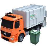 Double E E560-003 1/20 2.4G 8CH RC Car EP Cleaning Garbage Truck with LED Light RTR Model