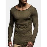 İnce Uzun Kollu Günlük Tişörtler