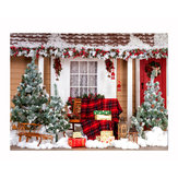5x3FT 7x5FT Christmas Snow Gift Photography Backdrop Background Studio Prop