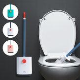 Tuvalet Fırça ve Tutucu Temizleme Seti Yerde duran Banyo Tuvalet Temizleme Parçalar