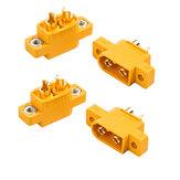 4 ШТ. RJX Amass XT60E-M Разъемы Штекер XT60 E Plug To M Разъем Для RC Батарея FPV Гонки Дрон