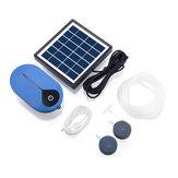 AP008 Solar Power Oxygen Pump Solar Powered Air Pump Kit 1.5W Solar Panel for Fish Pond Aquaculture