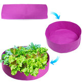 Growing Bag Organic Compost Box Eco-Friendly Compost Storage Round Planting Container for  Home Garden Vegetable Strawberry Potato Planting Grow Bag