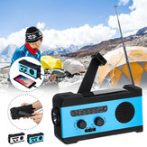 Portable Multifunctional AM/FM/WB Radio Pocket Speakers Solar Hand Crank Radio