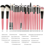 Ensemble de pinceaux de maquillage 22pcs